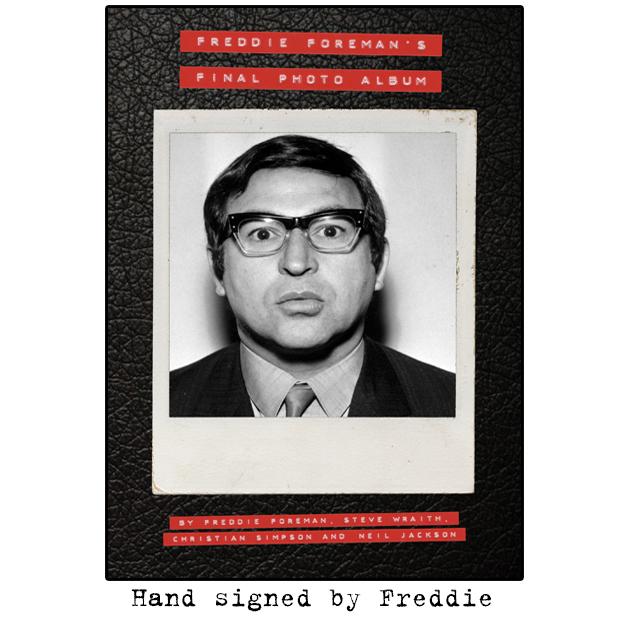 Freddie Foreman's Final Photo Album – Signed by Freddie